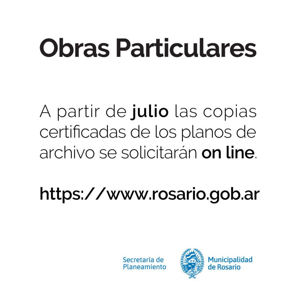 Muncipalidad de Rosario – Obras Particulares