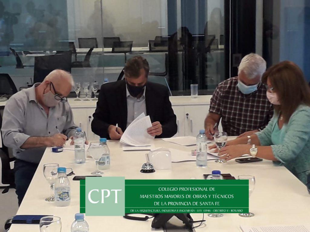 Convenio Marco de Colaboración y Articulación con las autoridades del Gobierno Provincia de Santa Fe