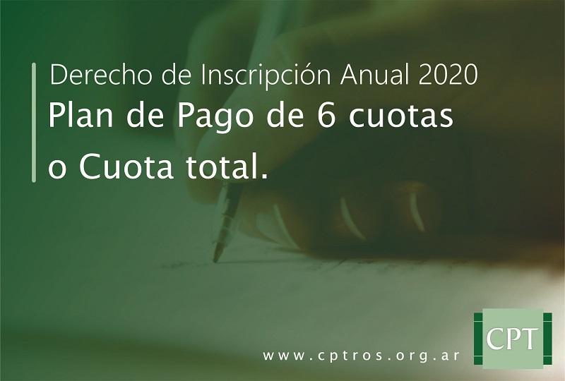 Matricula Año 2020